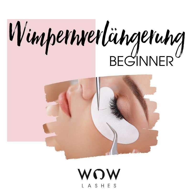 WOWbrows Wimpernverlängerung lernen. Wimpern kleben von einem Profi lernen.