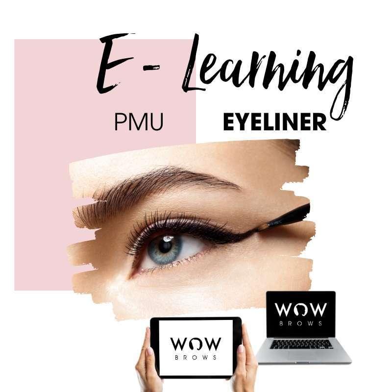 Online Kurs für Permanent Make Up Eyeliner und Wimpernkranzverdichtung