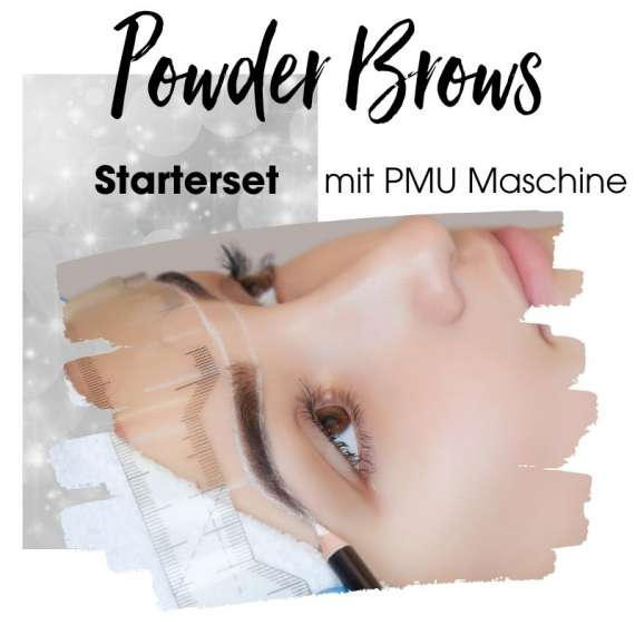 Starterset für die MicroShading Schulung für permanente Powderbrows ohne PMU Maschine.