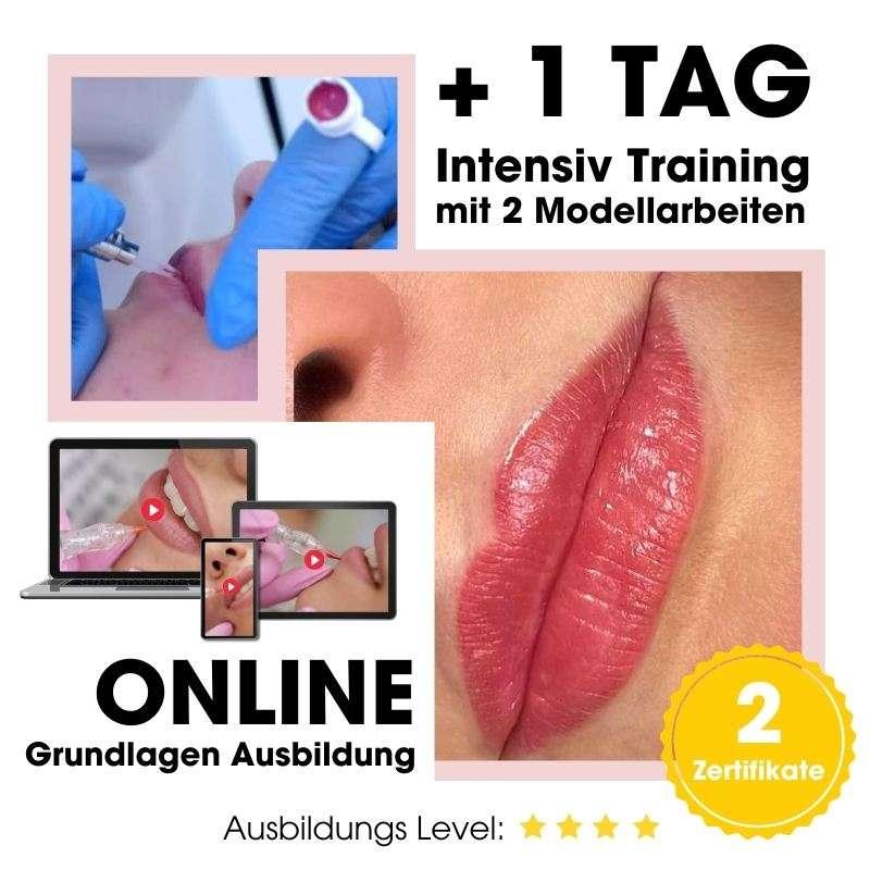 Lippen Permanent Make Up Junior Artist Schulung