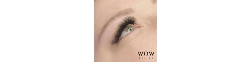 WOWbrows Volumenlashes für Wimpernverlängerung